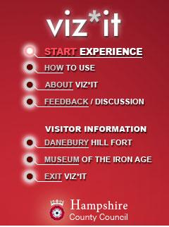Viz*it Menu Screen